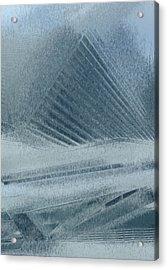 In The Mist Acrylic Print by Jack Zulli
