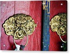 India, Ladakh, Likir, Close-up Acrylic Print by Anthony Asael