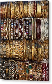 Indian Bangles Acrylic Print by Tim Gainey