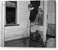 Indiana Flood, 1937 Acrylic Print by Granger