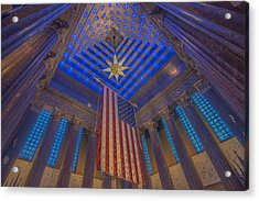 Indiana War Memorial Shrine  Acrylic Print