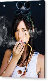 Industrial Fumes Acrylic Print by Jorgo Photography - Wall Art Gallery