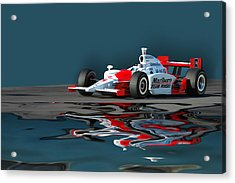 Indy Reflection Acrylic Print