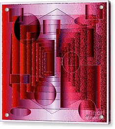 Infinity Acrylic Print by Iris Gelbart