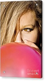 Inflation Before The Bust Acrylic Print