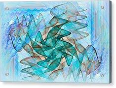 Infrasonic Acrylic Print by Tracy Mewmaw