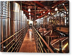 Inside Winery Acrylic Print by Elena Elisseeva