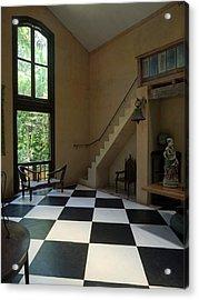 Interior Of Main House At Lunuganga Acrylic Print by Panoramic Images