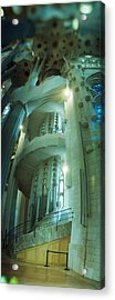 Interiors Of A Church Designed Acrylic Print