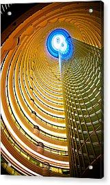 Interiors Of Jin Mao Tower Looking Acrylic Print