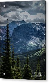 Into The Clouds Acrylic Print by Jim McCain