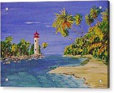 Into The Tropics Acrylic Print