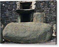 Ireland, County Meath, Newgrange Acrylic Print