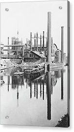 Iron Works Acrylic Print