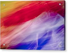Is It The Flag Acrylic Print by Jon Glaser