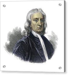 Isaac Newton Acrylic Print