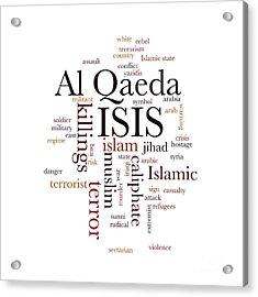 Isis Acrylic Print by Henrik Lehnerer