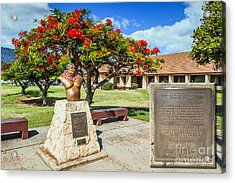 Acrylic Print featuring the photograph Israel Kamakawiwoole - Bruddah Iz by Aloha Art