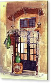 Italian Deli Acrylic Print