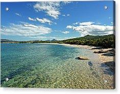 Italy, Sardinia, Olbia Tempio Province Acrylic Print by Degas Jean-pierre / Hemis.fr