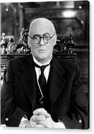 Its A Wonderful Life, Lionel Barrymore Acrylic Print by Everett