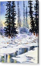 Jack Creek The Wrangells Acrylic Print