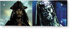 Jack Sparrow Acrylic Print by Jack Hood
