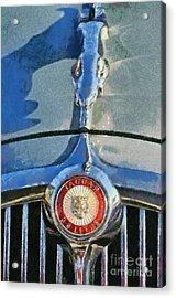 1966 Jaguar 3.8 S Type Acrylic Print