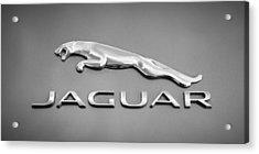 Jaguar F Type Emblem Acrylic Print