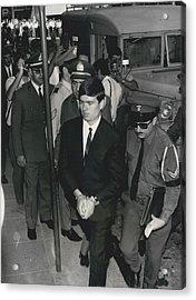 Jailed Arabs Await Skyjack Swap Acrylic Print by Retro Images Archive