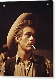 James Dean Acrylic Print by Retro Images Archive