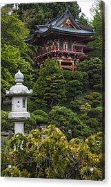 Japanese Tea Garden Golden Gate Park Acrylic Print by Adam Romanowicz