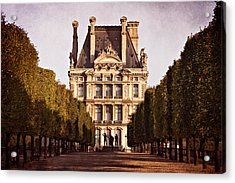 Acrylic Print featuring the photograph Jardin Des Tuileries / Paris by Barry O Carroll