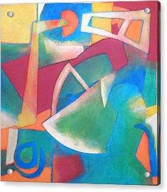 Jazz Acrylic Print by Diane Fine