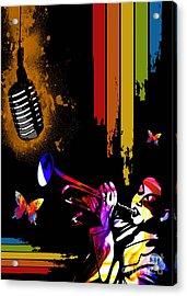 Jazz Acrylic Print by Mundo Arte