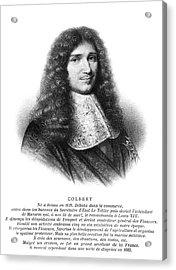 Jean-baptiste Colbert (1619-1683) Acrylic Print by Granger