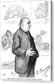 Jean Martin Charcot Acrylic Print by Granger