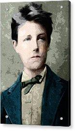 Self Portrait Jean Nicolas Arthur Rimbaud  Acrylic Print