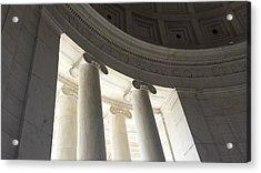 Jefferson Memorial Architecture Acrylic Print