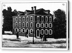 Jefferson's House, 1776 Acrylic Print by Granger