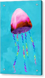 Jelly The Fish Acrylic Print