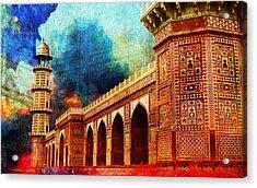 Jhangir Tomb Acrylic Print by Catf
