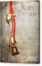 Jingle Bells Acrylic Print by Cindy Singleton
