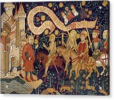 Joan Of Arc, 1429 Acrylic Print