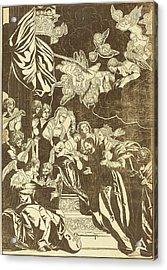 John Baptist Jackson After Veronese English Acrylic Print by Quint Lox