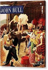 John Bull 1950s Uk Dressing Up Fancy Acrylic Print by The Advertising Archives