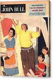 John Bull 1957 1950s Uk Expressions Acrylic Print by The Advertising Archives