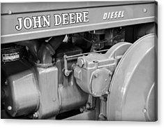 John Deere Diesel Acrylic Print