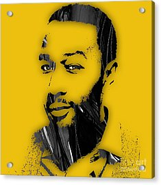 John Legend Collection Acrylic Print by Marvin Blaine