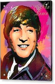 John Lennon  Acrylic Print by Vitaliy Shcherbak